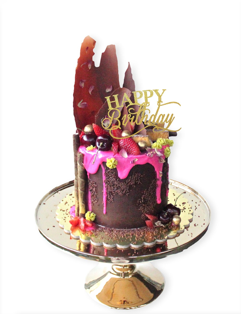 Image of Happy Birthday Cake Topper