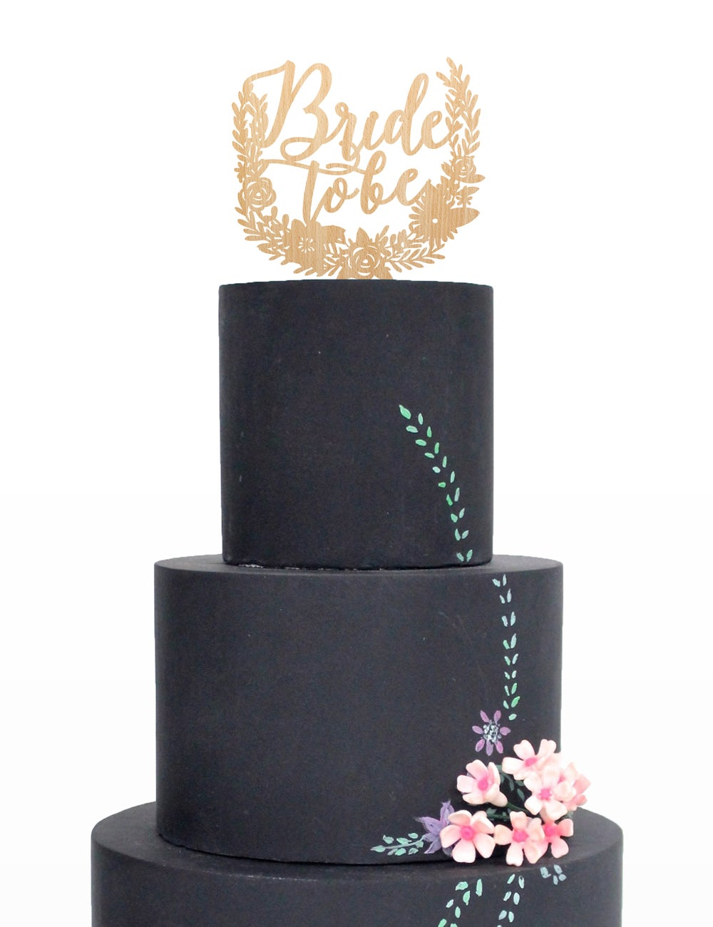 Image of Boho Bride to Be Cake Topper