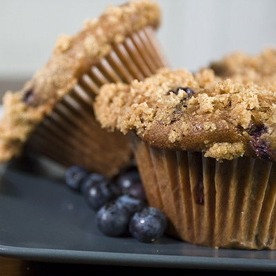 Image of marry me blueberry muffin
