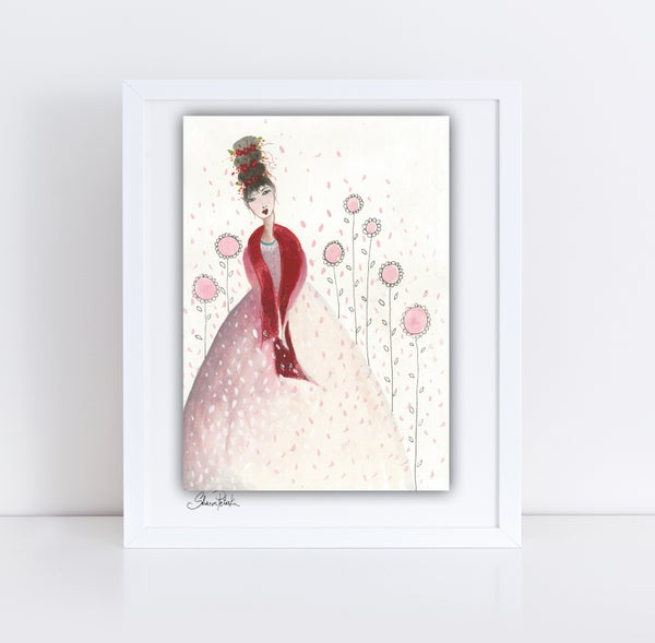 Image of Pink Lady Painting