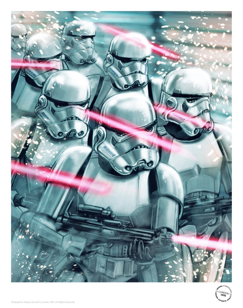 Image of Stormtroopers (officially licensed print)