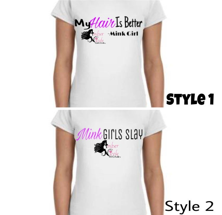 Image of Mink Girl T-Shirts