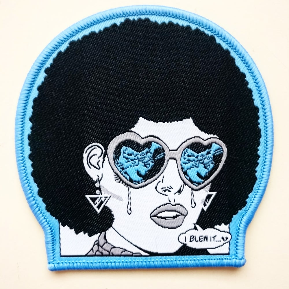 "Image of ""I BLEW IT..."" Embroidered Patch"
