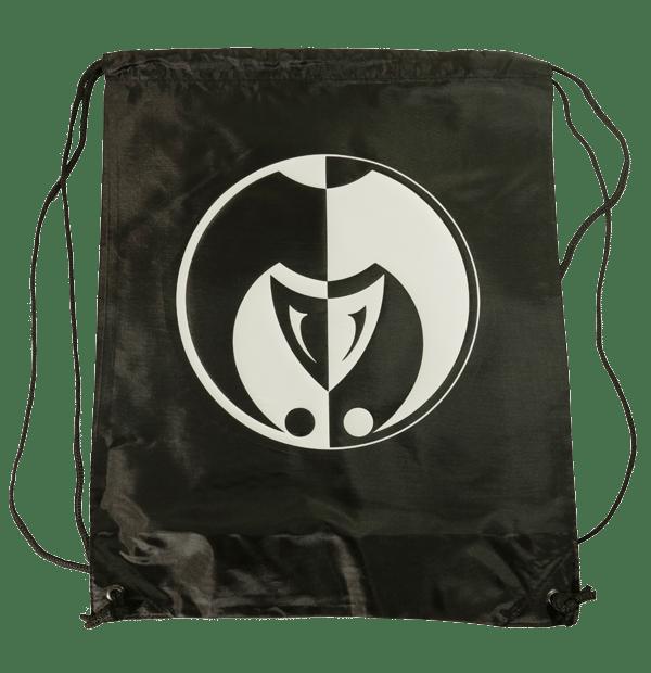 Image of The Jokerr Drawstring Bag/Backpack (Black & White)