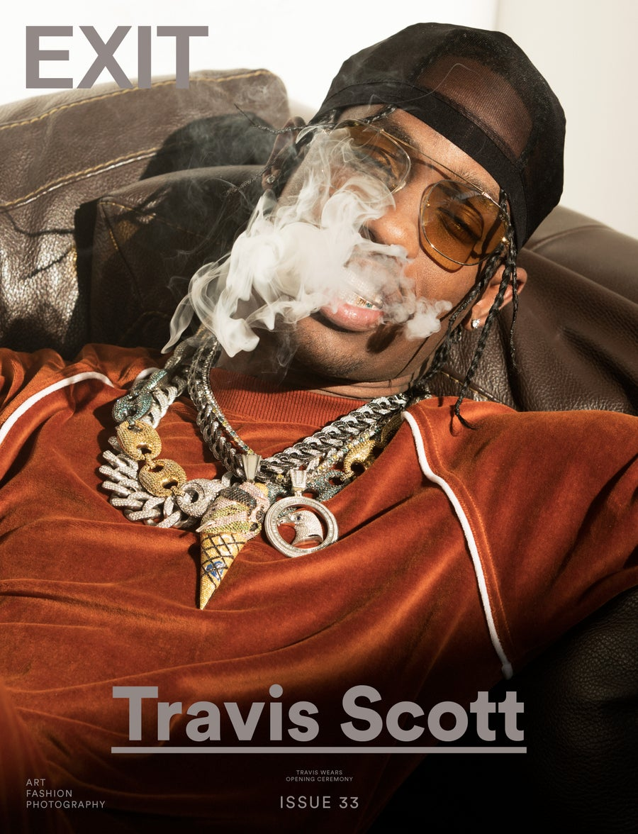 Image of EXIT ISSUE 33 (TRAVIS SCOTT COVER 2) SOLD OUT