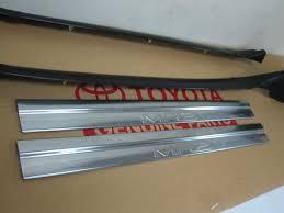 Image of 1991-1999  MR2 MK2 SW20 stainless steel door sills