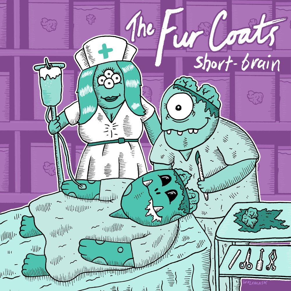 "Image of The Fur Coats ""Short-Brain"" 7"""