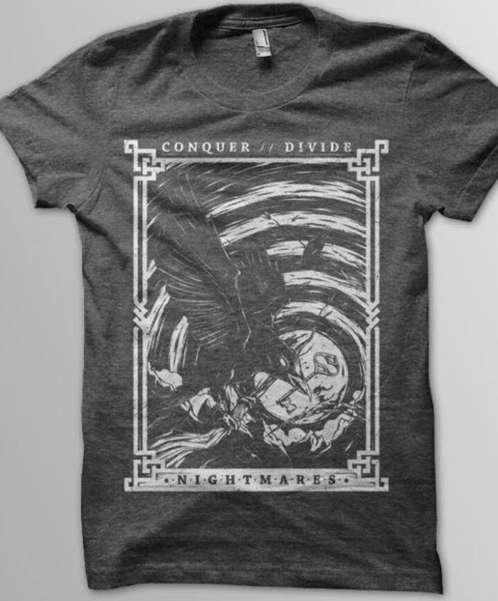 Image of Crow nightmare shirt