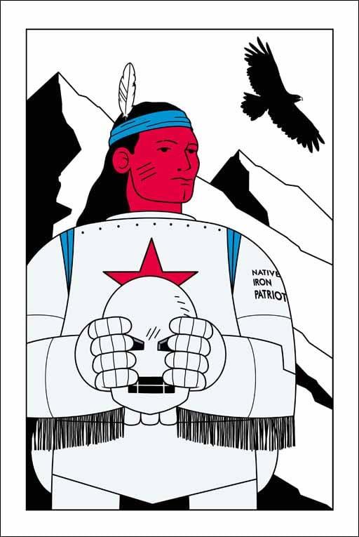 "HONET - ""Native Iron Patriot"""