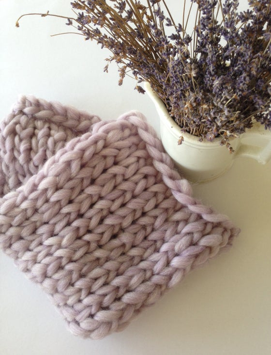 Image of Lavender mini blanket