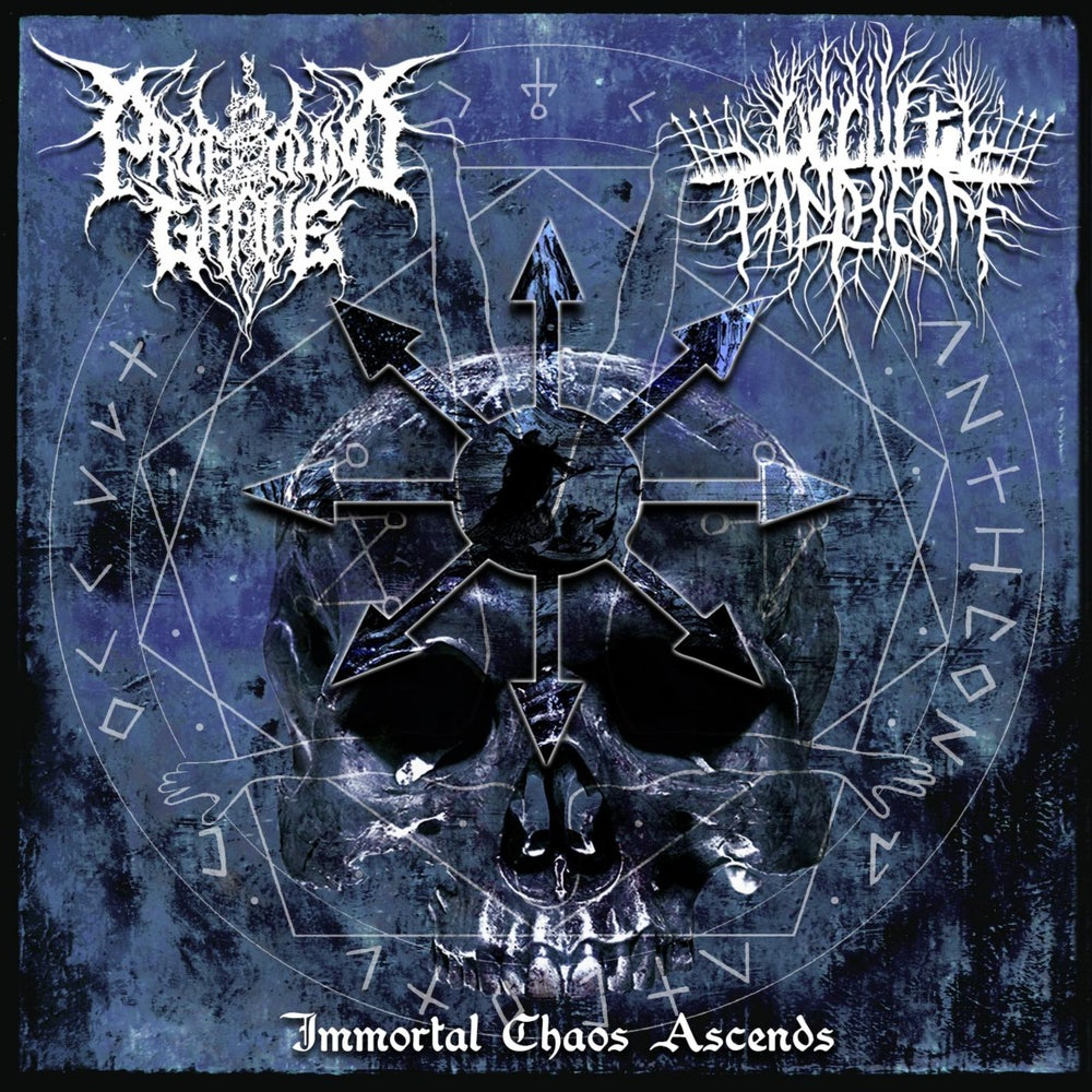 Image of Profound Grave/Occult Pantheon - Immortal Chaos Ascends CD