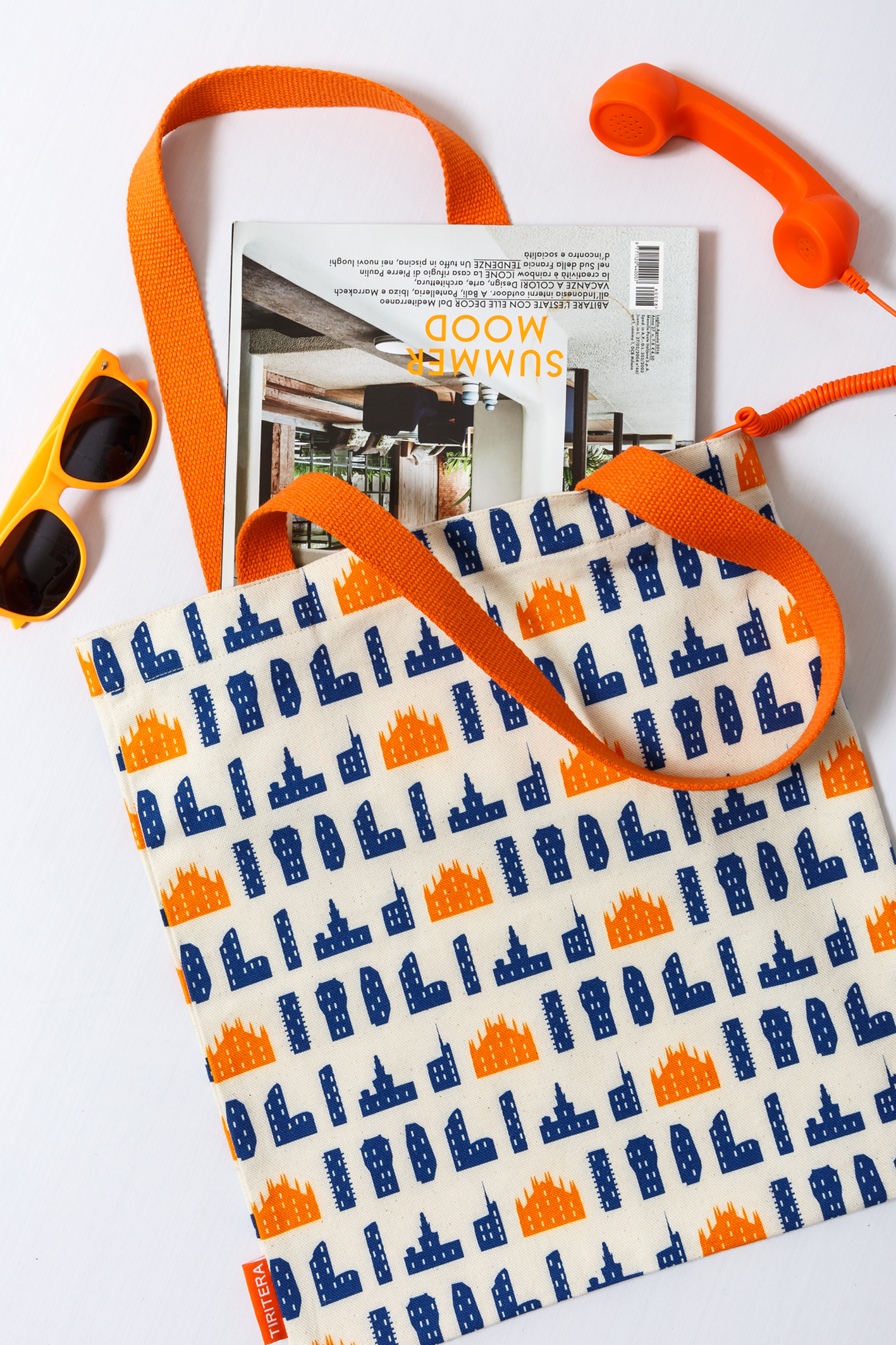 Image of City pattern Tote bags