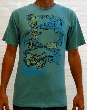 Image of Band Lines T-Shirt