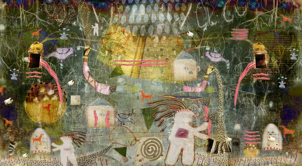Image of Shaman's Apprentice 2, Grace and Toward's a Healing Limited Edition Prints