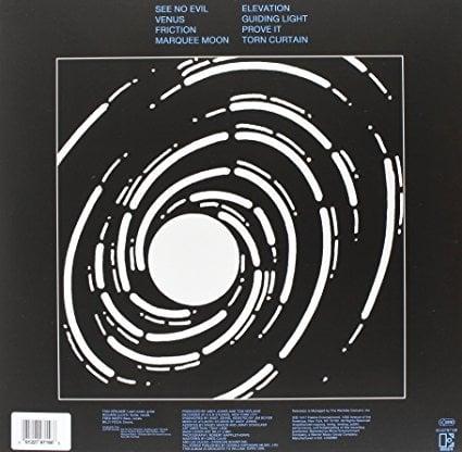 Television - Marquee Moon Vinyl Record