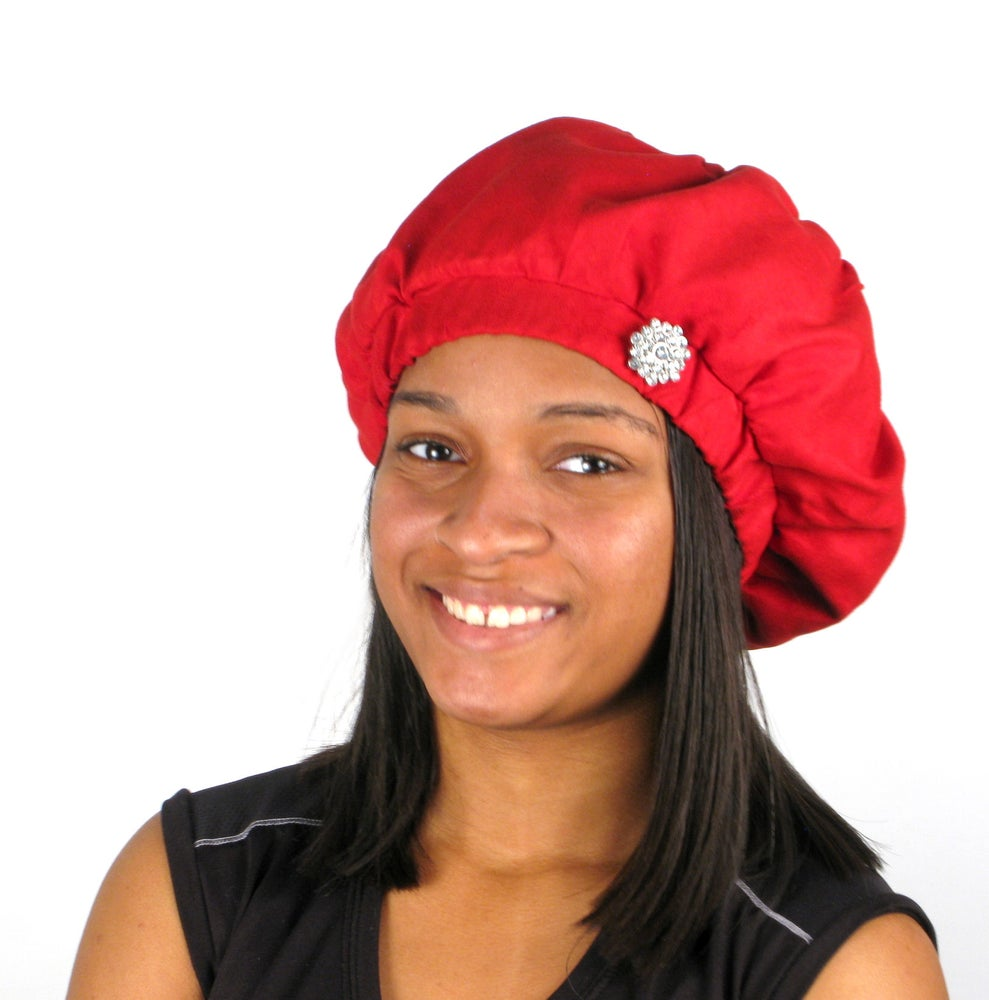 f05af893157dc Red Velvet Stylish Beret Hat   Fashions By Elishema