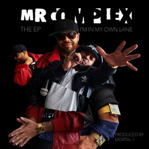 "Image of MR. COMPLEX ""I'M IN MY OWN LANE"" EP CD (Limited 100 pieces)"