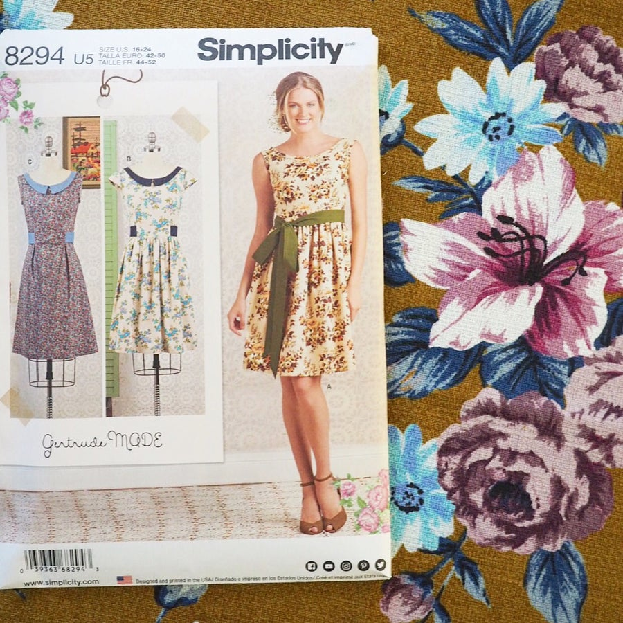 Image of #8294 Gertrude Made for Simplicity Pattern Co.