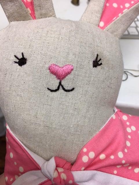 Image of Modern Folksy Bunny Spring Sewing Kit 2018
