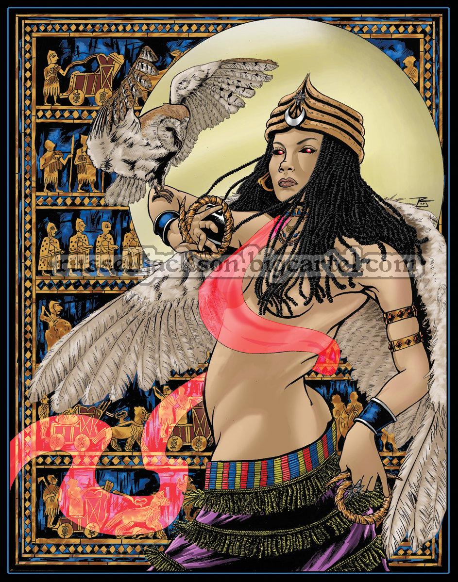 ultrawoman inanna goddess - HD943×1200