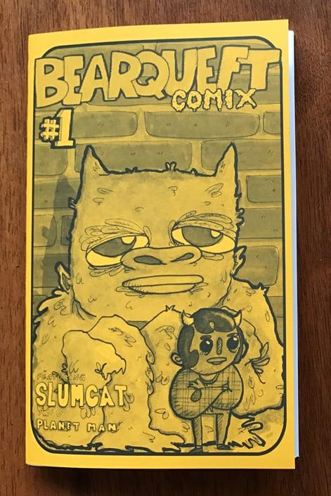 Image of Bearqueft Comix #1 - Zine