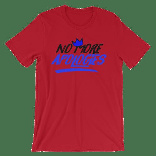 "Image of No More Apologies ""New Logo"" Unisex Crew Neck Shirt"