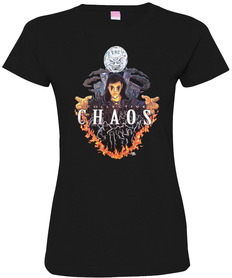 Image of Lady Jokerr Collective Chaos I.R.C. Tee