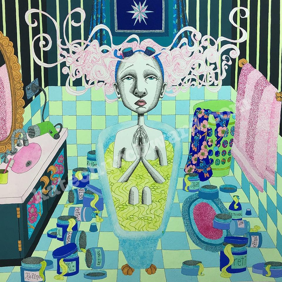 Image of Goddess #20 - Giclee print (A3)