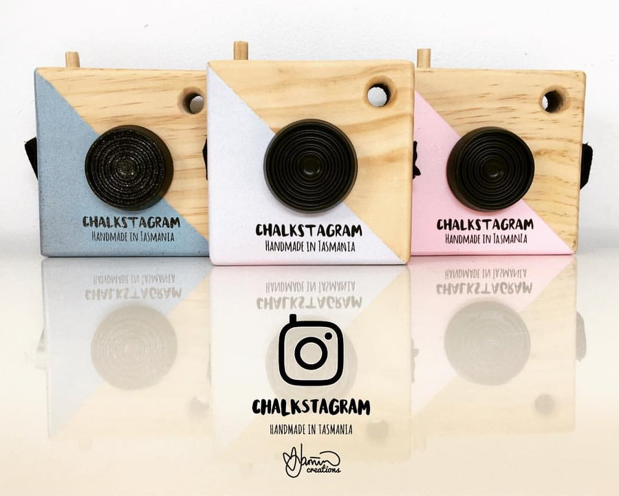 Image of Chalkstagram - Wooden Toy Camera