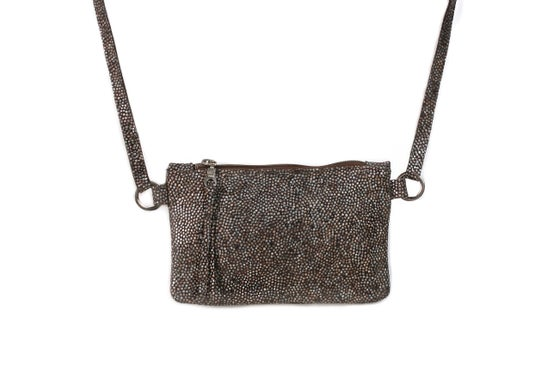 Image of Mini Chelsea Crossbody - grey pebble