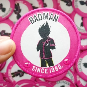 'BADMAN' Embroidered Patch - Moore Vigilance