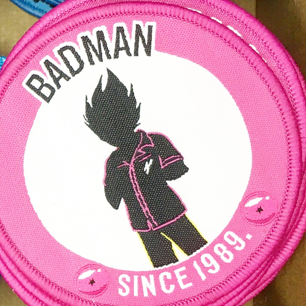 Image of 'BADMAN' Embroidered Patch