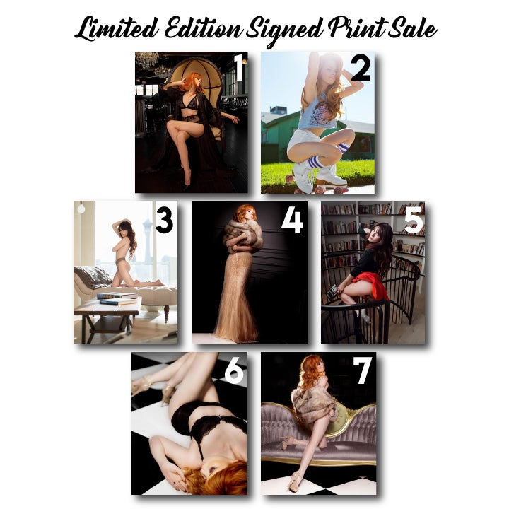 Image of Limited Edition Signed Print Sale