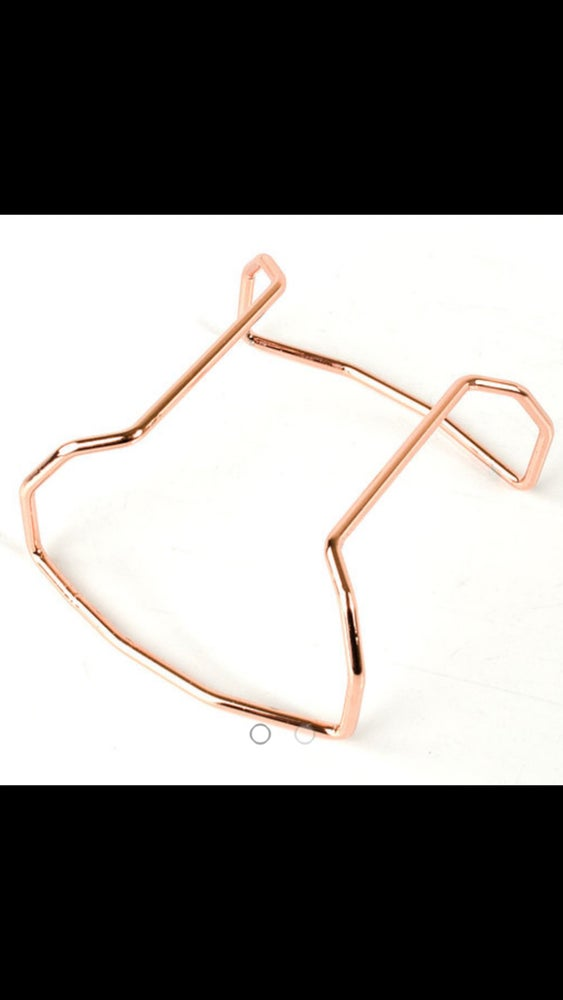 Image of Roll Cage - Protective Bar - Rose Gold Tone