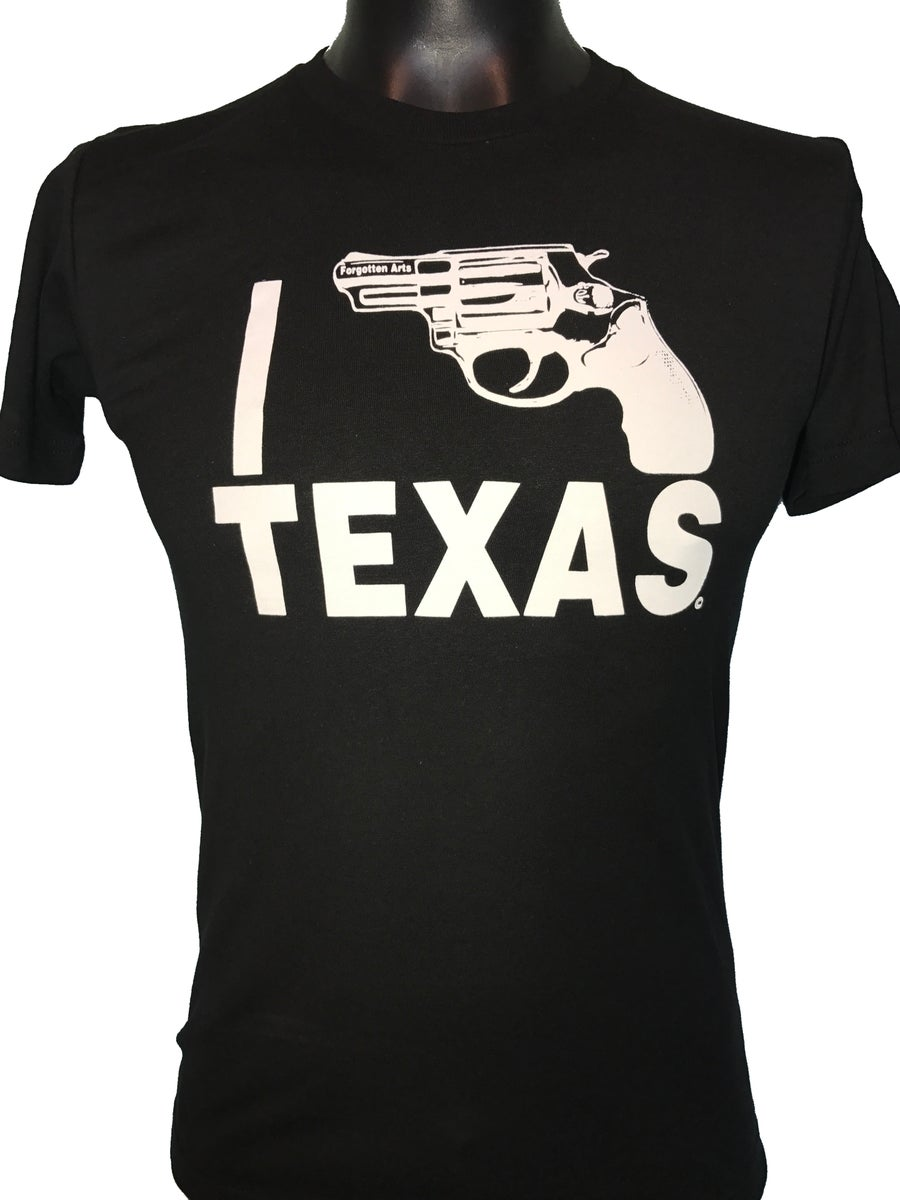 Image of Black w/White I Bang Texas
