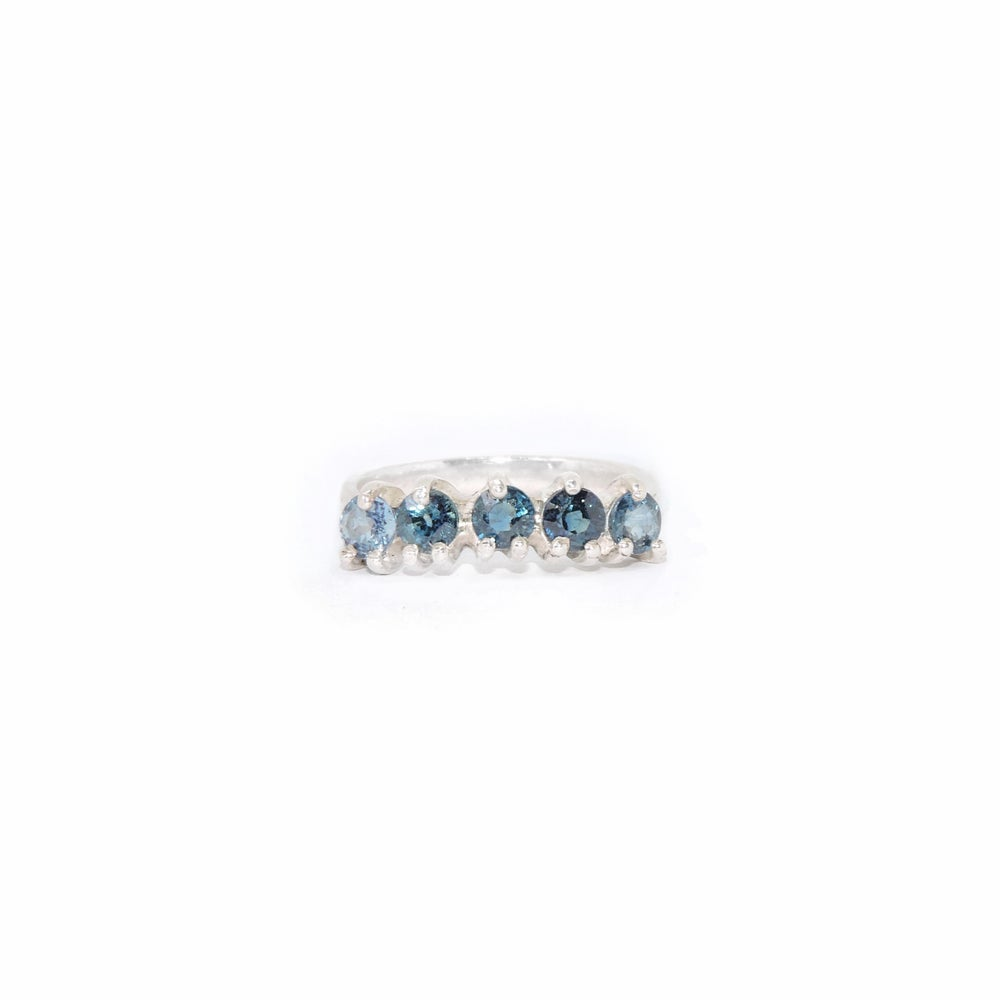 Image of shades of blue ring