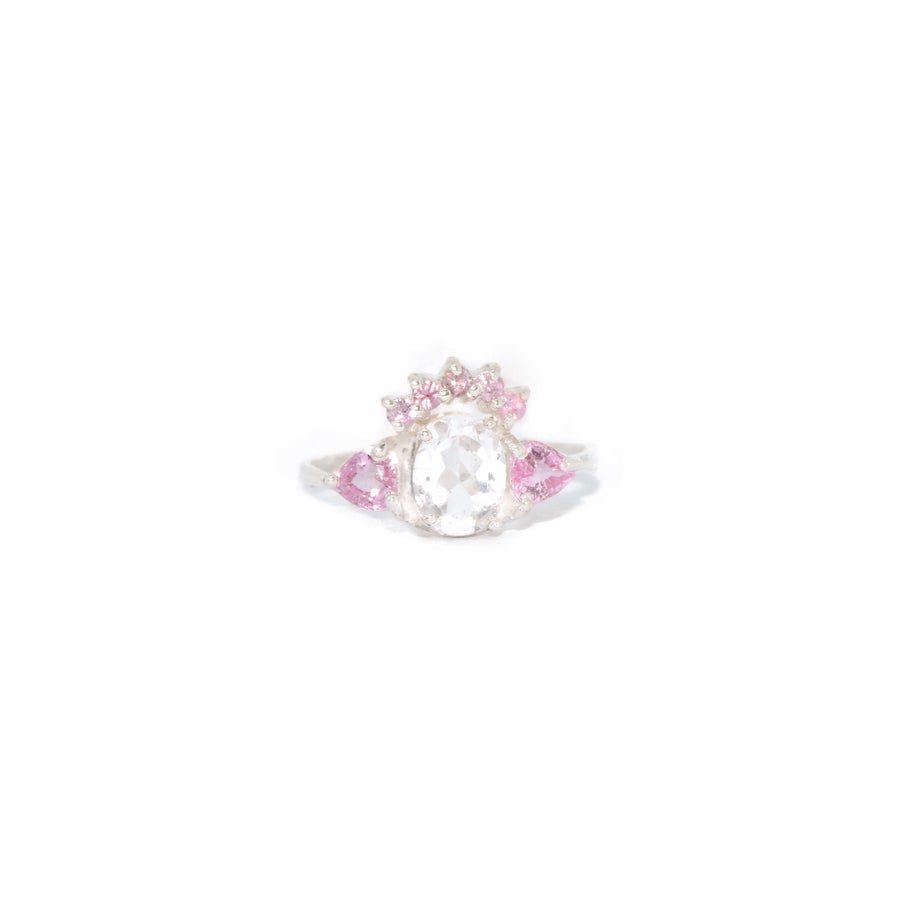 Image of pink sapphire ring