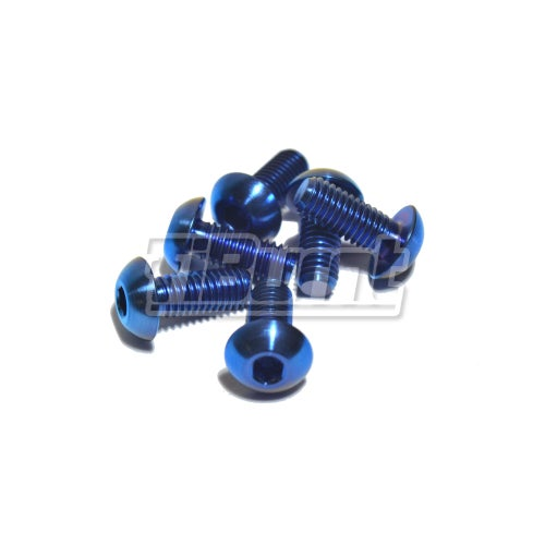 Image of Titanium Steering Wheel Screws (Button Head)