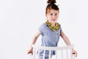 Image of Spring Lemonade - Faux Collar (NEW girl size available) see options