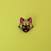 Image of Kitty Witch Enamel Pin