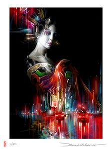 Image of 'Lady Of The Light' - Limited edition print