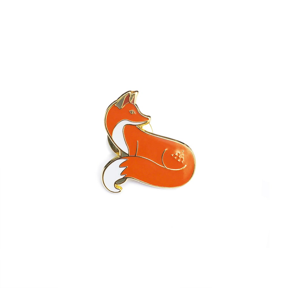Image of #QuinnsPins: Quinn the Fox Pin Badge