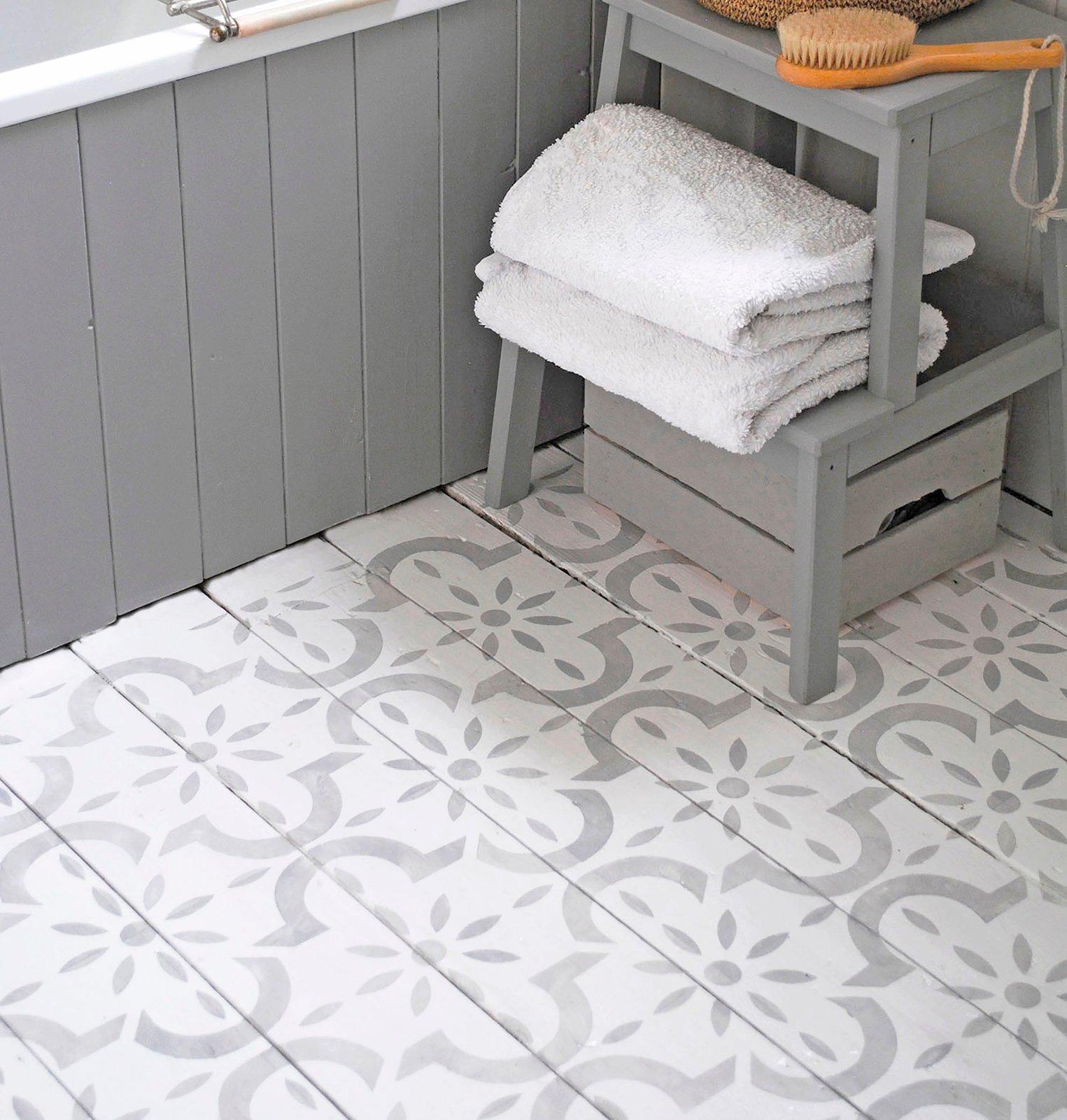 Large Medina Floor Stencil / Nicolette Tabram Stencils