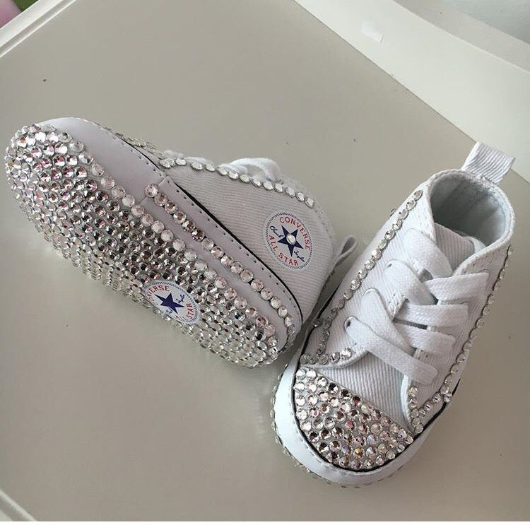 Image of Baby Bling Converse 5ccf46d88