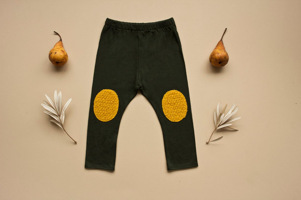 Image of Pine Merino leggings