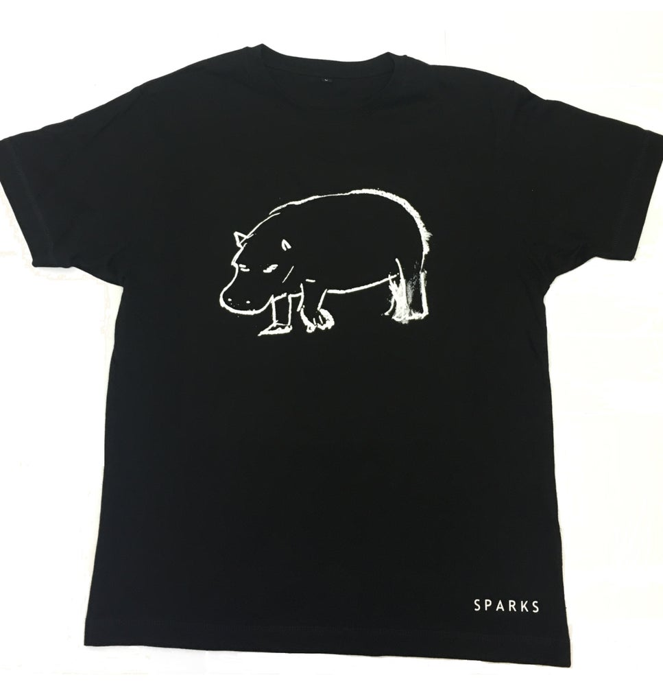 Image of Black Hippo T-Shirt