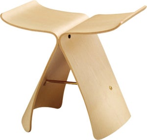 Image of Sori Yanagi Butterfly Stool - Tendo Mokko