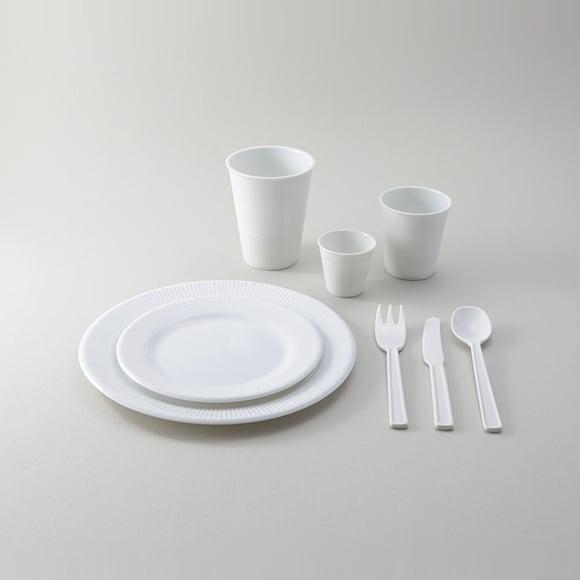 Image of Marc Newson Porcelains Cutlery Set - Picnics Set