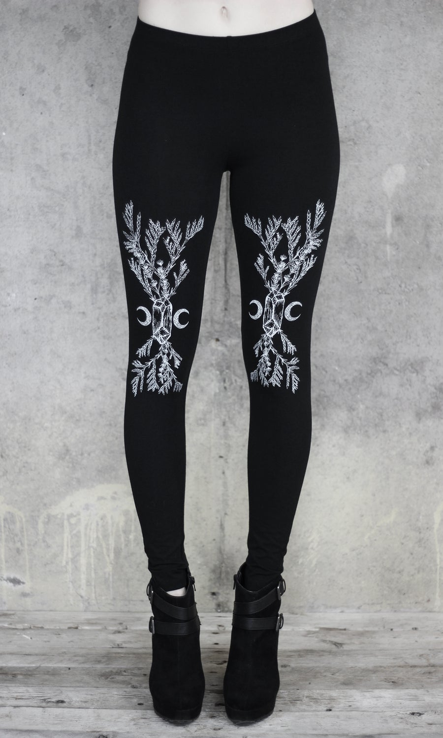 Image of CEDAR LAVENDER CRYSTAL LEGGINGS