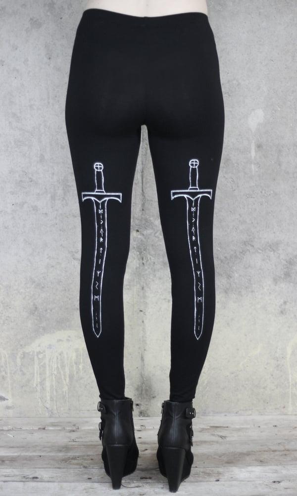 Image of RUNE SWORD LEGGINGS